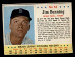 1963 Post Cereal #53  Jim Bunning  Front Thumbnail