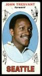 1969 Topps #58  John Tresvant  Front Thumbnail