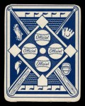 1951 Topps Blue Back #4  Del Ennis  Back Thumbnail