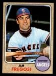 1968 Topps #170  Jim Fregosi  Front Thumbnail
