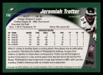 2002 Topps #158  Jeremiah Trotter  Back Thumbnail