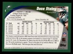 2002 Topps #4  Duce Staley  Back Thumbnail