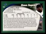 2002 Topps #144  Shaun Rogers  Back Thumbnail
