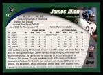 2002 Topps #132  James Allen  Back Thumbnail