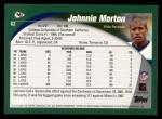 2002 Topps #62  Johnnie Morton  Back Thumbnail