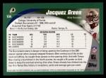 2002 Topps #104  Jacquez Green  Back Thumbnail