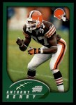 2002 Topps #107  Anthony Henry  Front Thumbnail