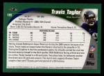 2002 Topps #189  Travis Taylor  Back Thumbnail