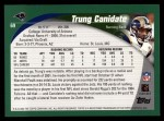 2002 Topps #69  Trung Canidate  Back Thumbnail