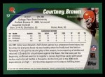 2002 Topps #57  Courtney Brown  Back Thumbnail