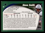 2002 Topps #40  Steve Smith  Back Thumbnail