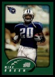 2002 Topps #39  Mike Green  Front Thumbnail