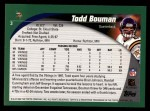 2002 Topps #3  Todd Bouman  Back Thumbnail