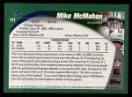 2002 Topps #191  Mike McMahon  Back Thumbnail