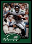 2002 Topps #45  Fred Taylor  Front Thumbnail