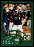 2002 Topps #110  Qadry Ismail  Front Thumbnail