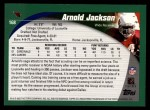 2002 Topps #168  Arnold Jackson  Back Thumbnail