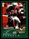2002 Topps #168  Arnold Jackson  Front Thumbnail
