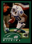 2002 Topps #113  Terrence Wilkins  Front Thumbnail