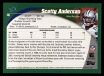 2002 Topps #46  Scotty Anderson  Back Thumbnail