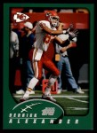 2002 Topps #159  Derrick Alexander  Front Thumbnail