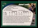 2002 Topps #85  Jamal Lewis  Back Thumbnail