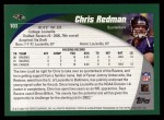 2002 Topps #103  Chris Redman  Back Thumbnail