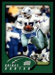 2002 Topps #92  Quincy Carter  Front Thumbnail