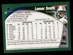 2002 Topps #25  Lamar Smith  Back Thumbnail