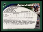 2002 Topps #32  Ronney Jenkins  Back Thumbnail