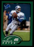 2002 Topps #16  Charlie Batch  Front Thumbnail