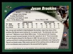 2002 Topps #95  Jason Brookins  Back Thumbnail