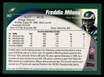 2002 Topps #347  Freddie Milons  Back Thumbnail