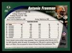 2002 Topps #255  Antonio Freeman  Back Thumbnail
