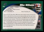 2002 Topps #313  Mike Williams  Back Thumbnail