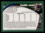 2002 Topps #230  Freddie Jones  Back Thumbnail