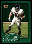 2002 Topps #273  Mike Brown  Front Thumbnail