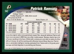 2002 Topps #342  Patrick Ramsey  Back Thumbnail