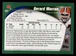 2002 Topps #207  Gerard Warren  Back Thumbnail