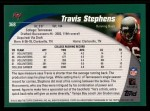 2002 Topps #368  Travis Stephens  Back Thumbnail