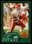 2002 Topps #298   -  Priest Holmes Weekly Wrap-Up Front Thumbnail
