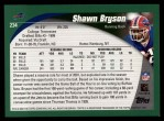 2002 Topps #234  Shawn Bryson  Back Thumbnail