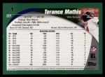 2002 Topps #227  Terance Mathis  Back Thumbnail