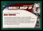 2002 Topps #304   -  Dominic Rhodes Weekly Wrap-Up Back Thumbnail