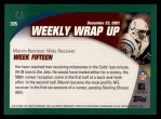 2002 Topps #305   -  Marvin Harrison Weekly Wrap-Up Back Thumbnail