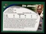 2002 Topps #282  Eric Johnson  Back Thumbnail