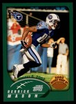 2002 Topps #307   -  Derrick Mason Weekly Wrap-Up Front Thumbnail