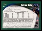 2002 Topps #363  Ashley Lelie  Back Thumbnail