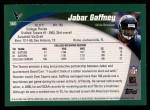 2002 Topps #360  Jabar Gaffney  Back Thumbnail