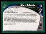 2002 Topps #371  Mark Colombo  Back Thumbnail